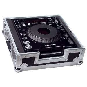 Road Ready RRCDJ Case For Lrg Table Top CD Players Single