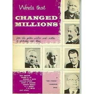 Words That Changed Millions Books