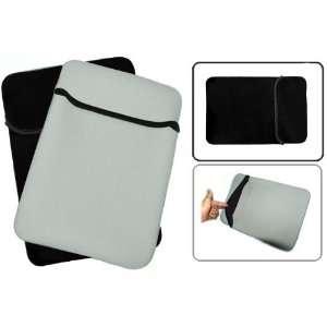 10.1 inch Gray / Black Reversible Neoprene Netbook Notebook Laptop