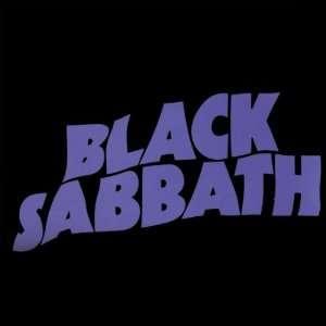 Black Sabbath   Masters Logo Decal Automotive