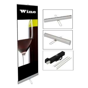 Retractable Banner Stand for Trade Show Displays
