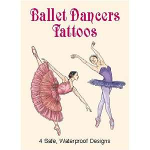 Ballet Dancers Tattoos (9780486423555): Darcy May: Books