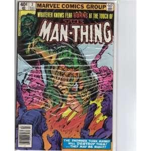 Man Thing #3 Comic Book