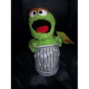 Sesame Street Oscar The Grouch Plush 10