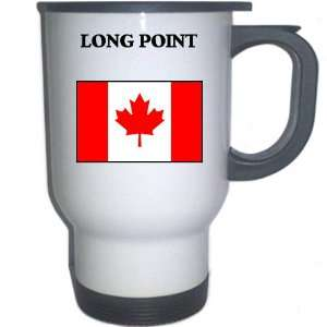 Canada   LONG POINT White Stainless Steel Mug