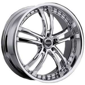 Boss 337 22x9 Chrome Wheel / Rim 5x112 with a 40mm Offset and a 82.80