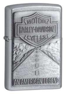 Zippo Harley Davidson American Legend   Street Chrome #20229