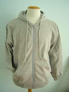 king fashions flex fleece zip hoodie grey code a007