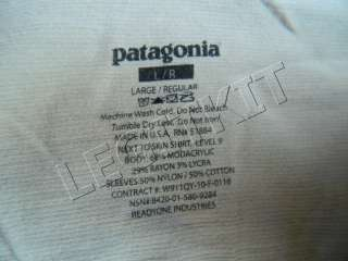 Patagonia AOR1 Level 9 Combat Shirt LARGE REGULAR Navy SEAL DEVGRU