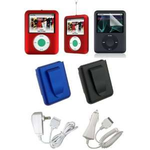3Rd Generation Apple iPod Nano Rubberize Texture Snap On