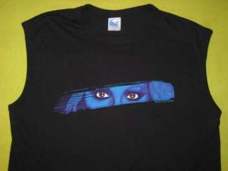 Vintage MISSING PERSONS 1982 TOUR T SHIRT NEW WAVE tee