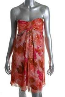 Nicole Miller NEW Petite Versatile Dress Pink Silk Sale 0P
