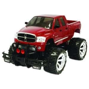 NIKKO 1/10 RC Dodge Ram Mega Cab Turbo Off Road Truck Toys & Games