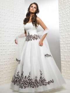 ENew Quinceanera wedding prom ball bridal Evening dress