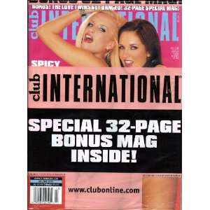 CLUB INTERNATIONAL HOLIDAY 2005: CLUB MAGAZINE: Books