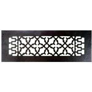 Acorn Manufacturing GR8BG D Black 16 x 5 1/2 Cast Iron