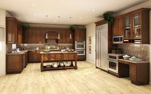 All Solid Wood Kitchen Cabinets 10x10 FULLY ASSEMBLED Wellington