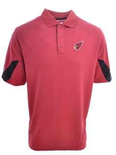 Arizona Cardinals Reebok Official NFL Polo Shirt   Sideline Jersey