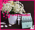 100pcs Green Sweet Love Wedding Favor Gift Box Boxes