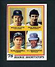 1978 Topps # 707 ROOKIE Paul Molitor Alan Trammell Tige