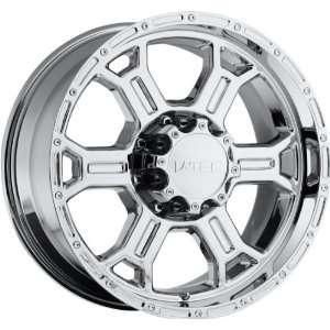 22x9.5 V TEC Raptor 5x150 +25mm Chrome Wheels Rims Inch 22
