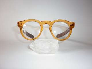 Brown orange retro eyeglasses, 60s style SWING 04 H16 P