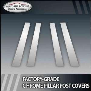 98 11 Lincoln Town Car 4Pc Chrome Pillar Post Covers