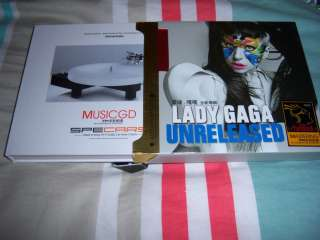 Lady gaga unreleased 3 x CD box set (fame monster born this way