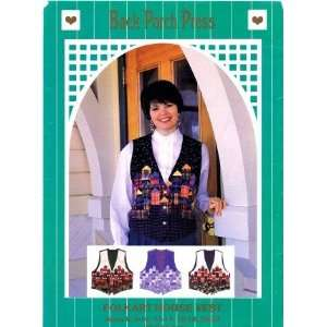Back Porch Press Sewing Pattern Misses Folkart House Vest