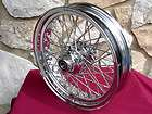 16X3.5 40 SPOKE FRONT WHEEL FOR HARLEY HERITAGE FAT BOY DELUXE 00 05