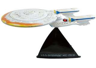 Lightning Star Trek series 4 ENTERPRISE 1701 D BATTLE DAMAGED