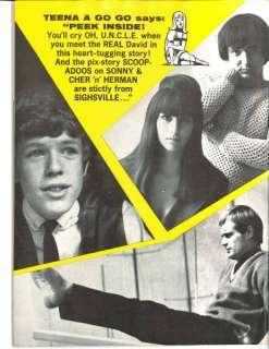 Vintage Beatles Magazine Teen Life Mar 66 Beach Boys