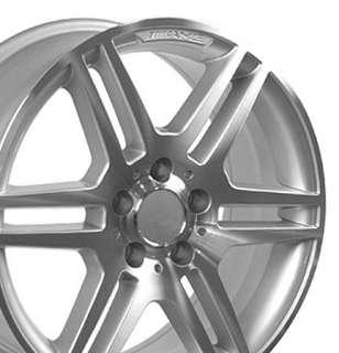 17 Rim Fits Mercedes AMG Wheels   Silver 17x7.5 SET