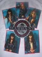 VINTAGE 1989 WARRANT ROCK BAND TOUR SHIRT BROCKUM