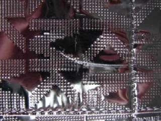 198 Michael Kors Black Tote MK Logo Pattern Leather Strap Gold