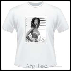 Lynda Carter   Wonder Woman T Shirt   S   M   L   XL   2XL