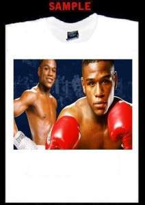 FLOYD MAYWEATHER JR CUSTOM T SHIRT TEE boxing T297