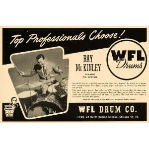 McKinley Jazz Big Band Percussion   Original Print Ad