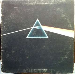 VG  PINK FLOYD dark side of the moon LP SMAS 11163 Vinyl Record 1973