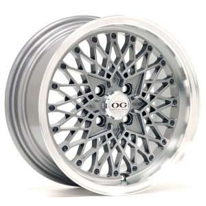 15x7 Axis Og San (Graphite w/ Machine Polished Lip) Wheels/Rims 4x100