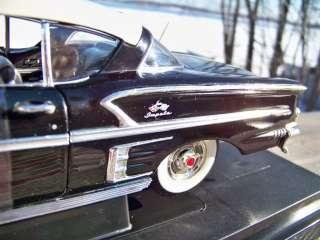 American Graffiti Onyx Black 1958 Chevrolet Impala SKU 36604