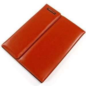 (Brown) Stylish Business Case Brown PU Leather Case/ Stand