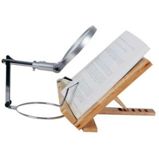Magnifier Magnifying Glass LED Light Lamp ¢5.35in Reading Precision