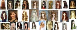 2012 stunning Long blonde Layered Wig hair Fashion Wig