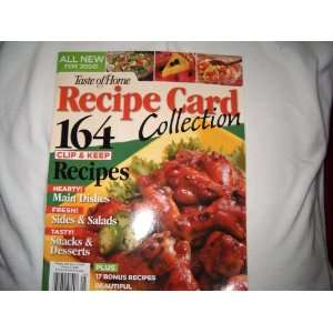 Recipe Card Collection Vol. 5 Year: 2006: Julie Blume Benedict: Books