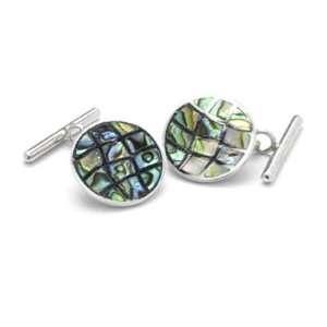 Abalone Cufflinks Jewelry