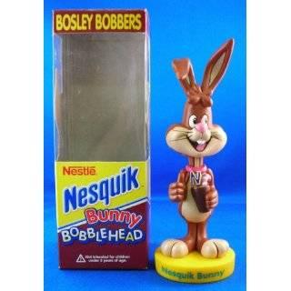 Linited Edition Rare Nesquik Nesquick Bunny Bobble Head Bosley Bobber
