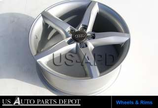 NEW 18x8.0 Wheels Rims with Central Caps Fit AUDI RS6/RS4/A4/A5/S4