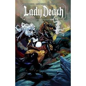 Lady Death #15: Mike Wolfer, Marcelo Mueller: Books