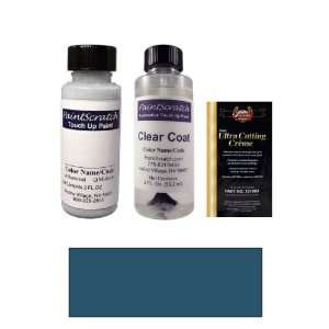 2 Oz. Medium Lapis Metallic Paint Bottle Kit for 1995 Ford